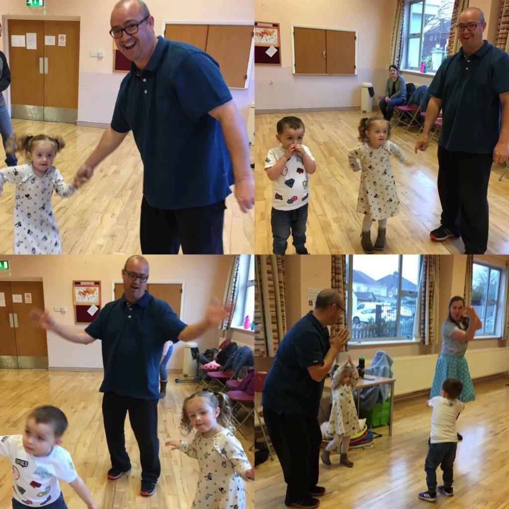 dad dancing, toddler dance