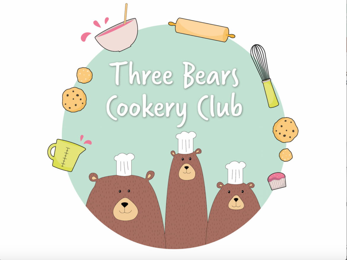three bears cookery club, activity of the week, things to do with the kids