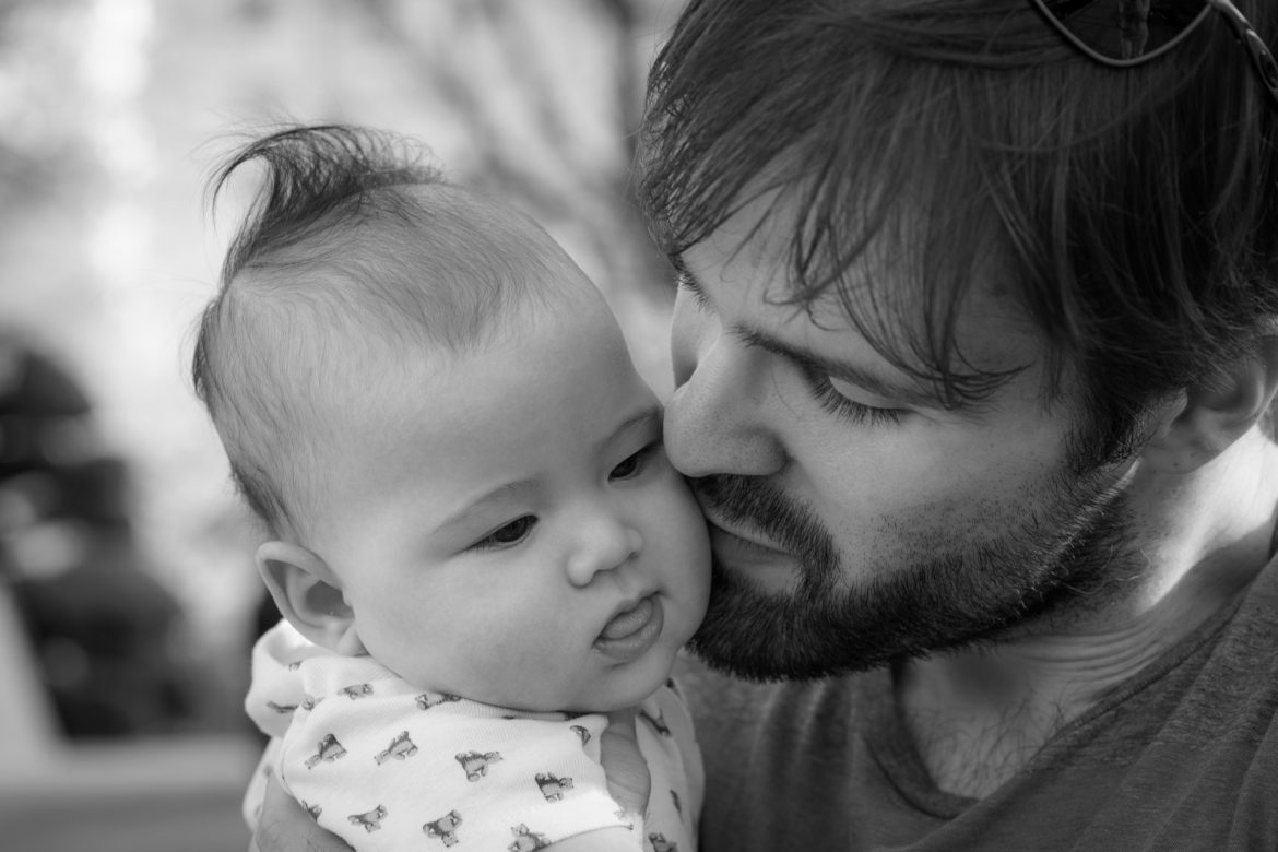 latte dads, shared parental leave, swedish dads