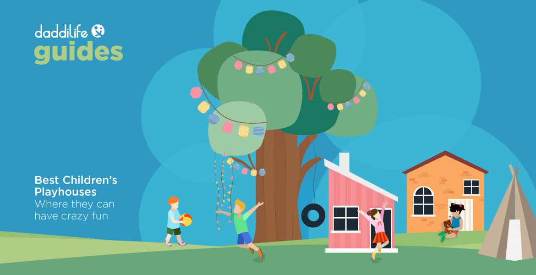 best children's playhouses, wooden playhouse, best playhouse for toddlers, best playhouse for kids