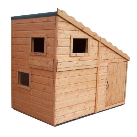 best childrens playhouse, command post playhouse, wooden playhouse
