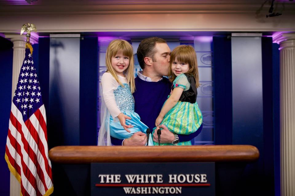 Peter and girls, Peter Alexander, Fatherhood