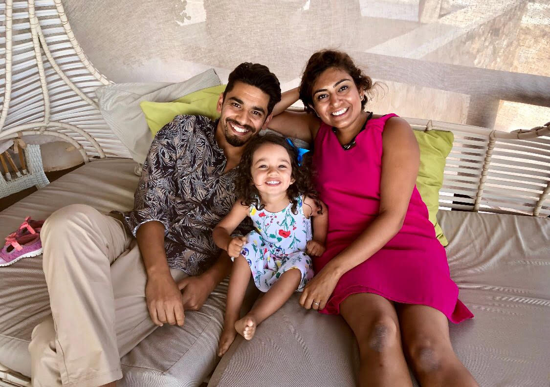 wifes labour, manish verma