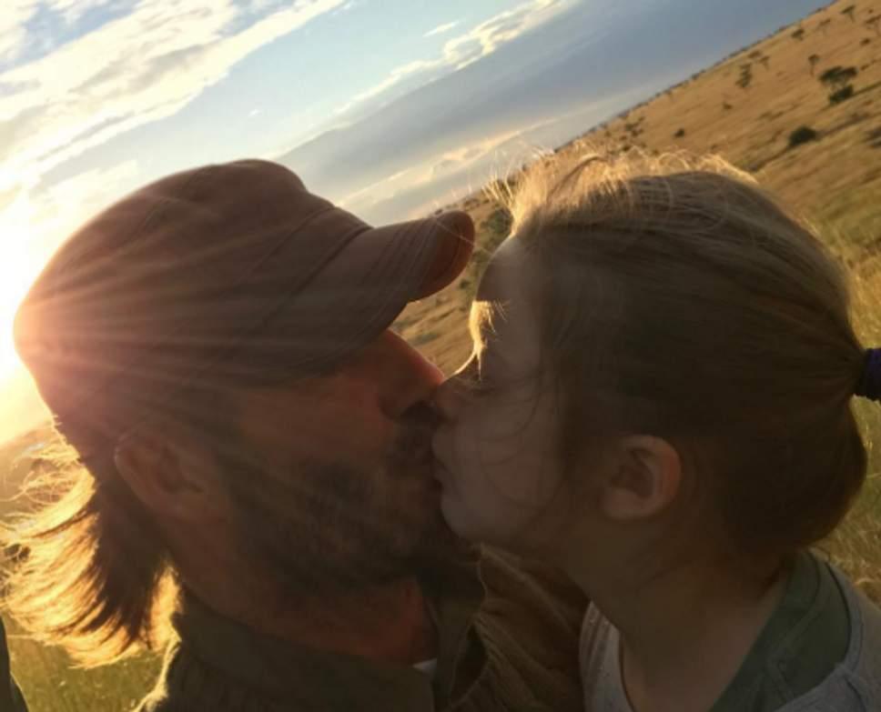 Beckham kiss