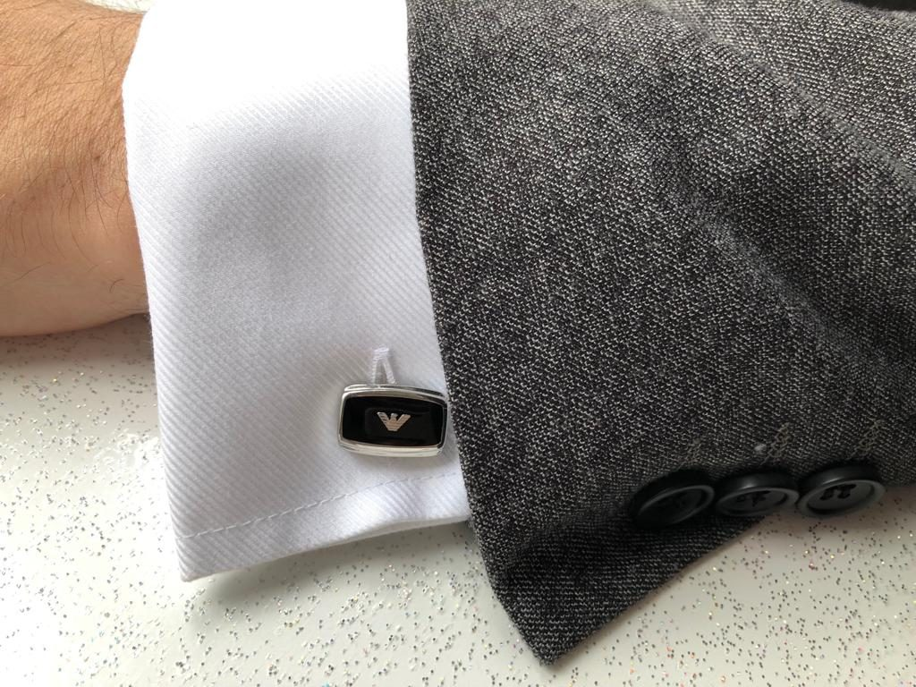 Fathers day 2019, Armani cufflinks, mainline menswear