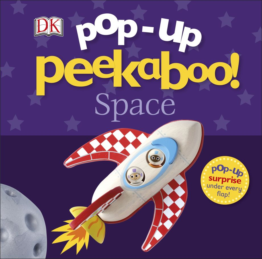 Pop Up Peekaboo Space, DK, Book reviews, Book Squad