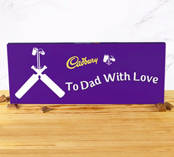 Personal chocolate bar, fathers day 2019