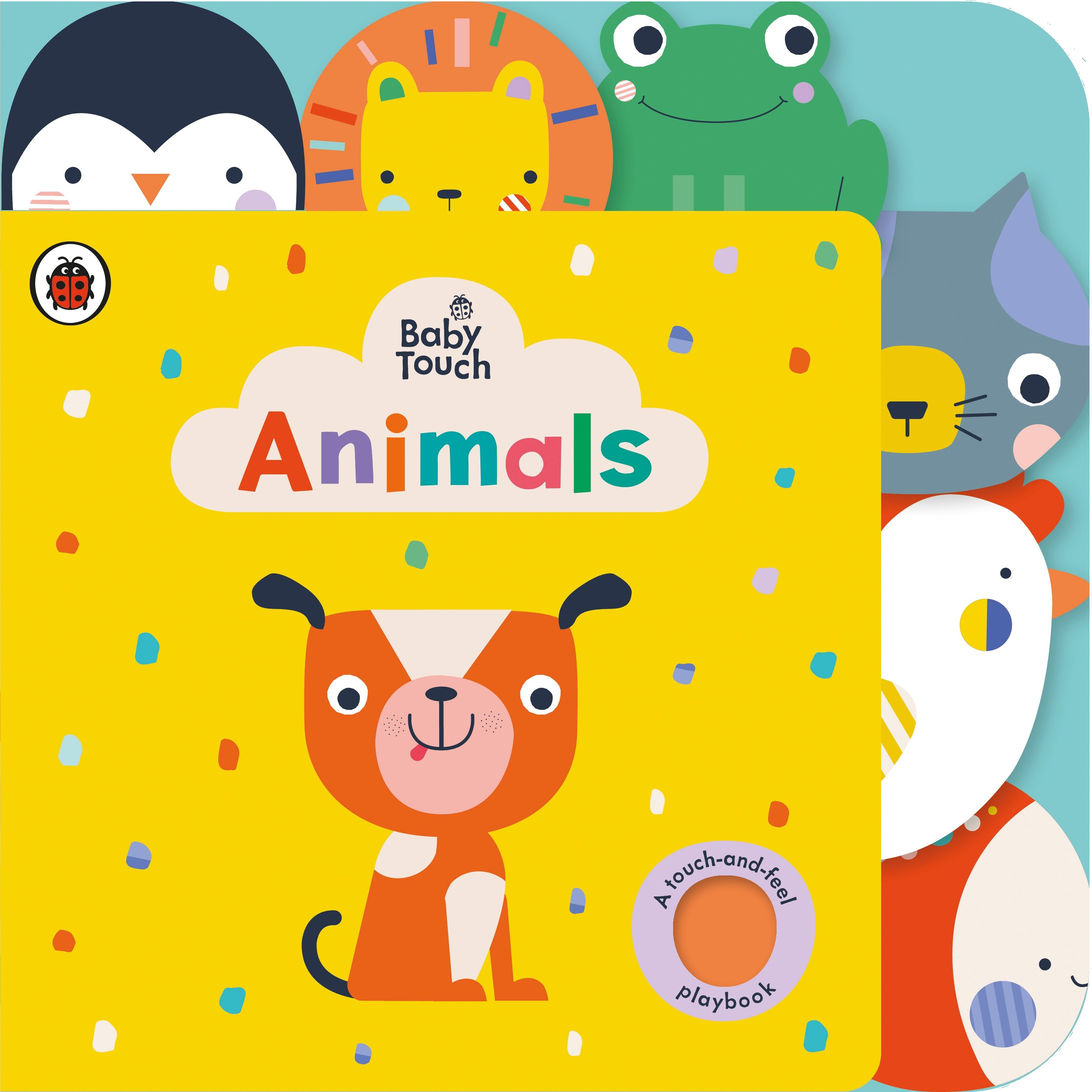 Baby Touch Animals Book, DaddiLife Book Squad
