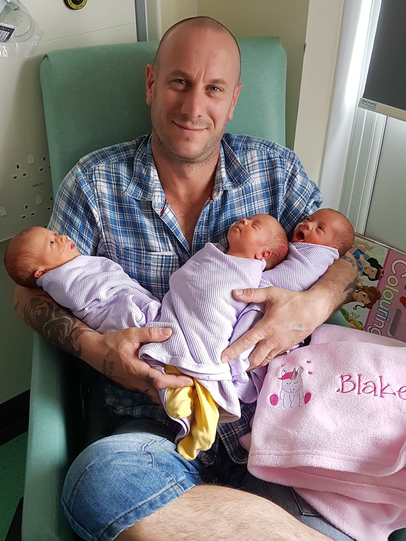triplets,triplet dad