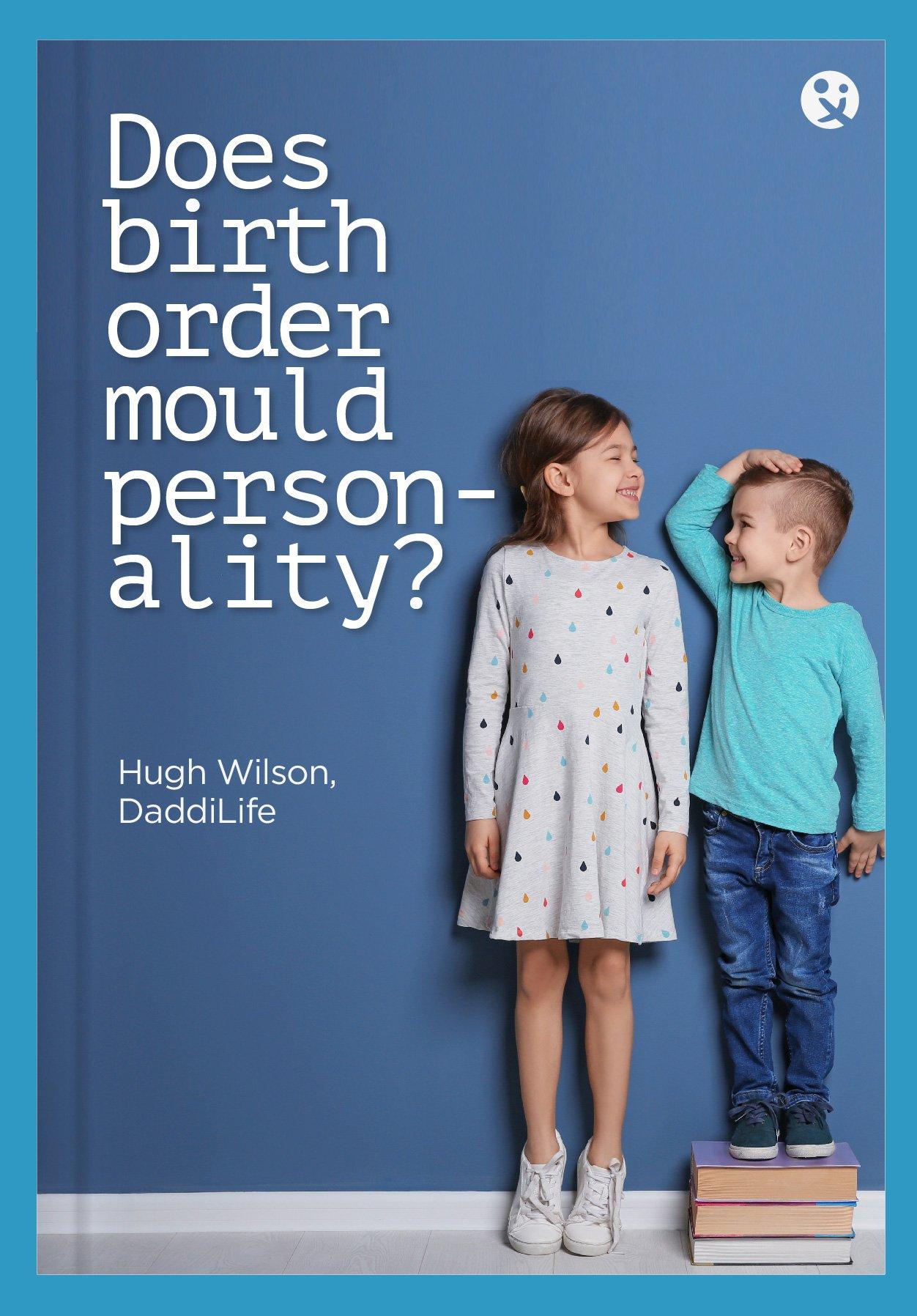 birth order, personality, siblings