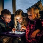 screentime, tablet, children