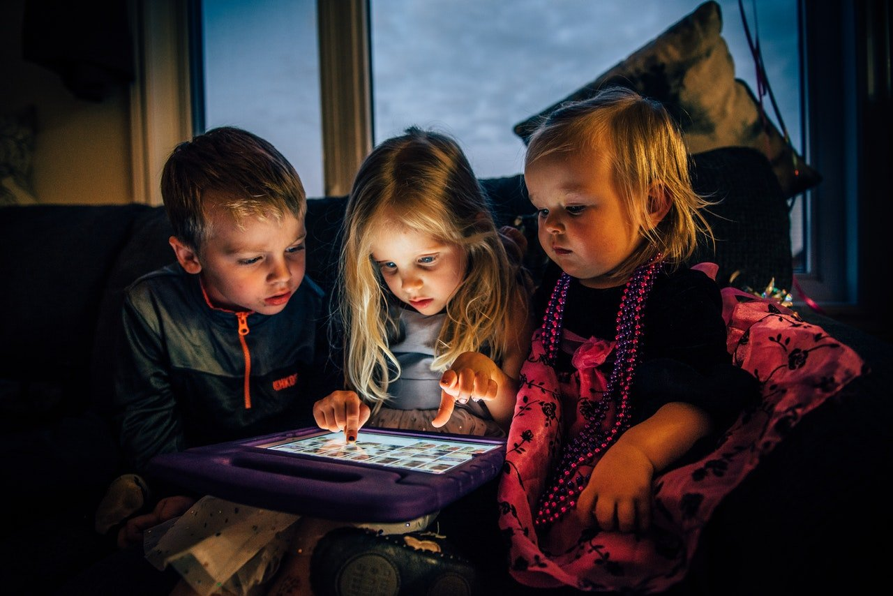 screentime, tablet, children