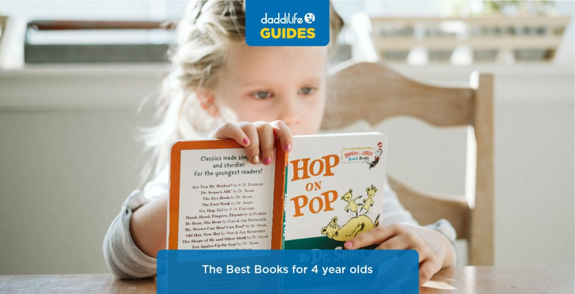 best books for 4 years old, 4 year old books, what should my 4 year old be reading, best 4 year old books, great books at 4 years old