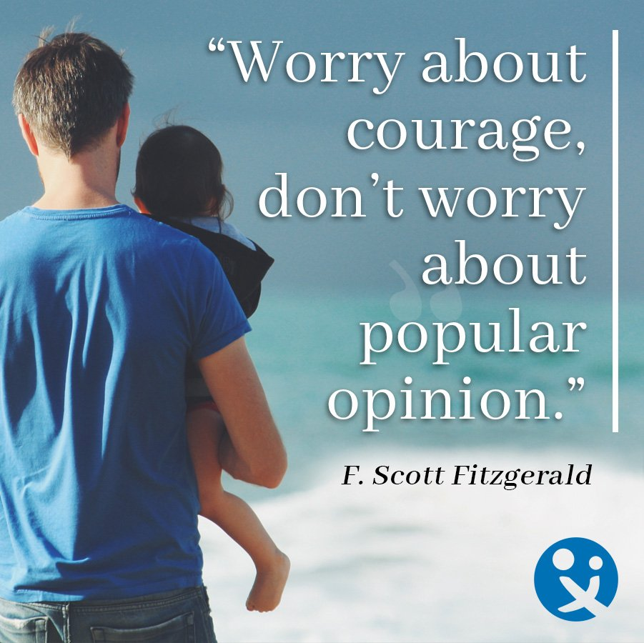 inspirational quotes from dads, inspirational quotes for dads, F Scott Fitzgerald