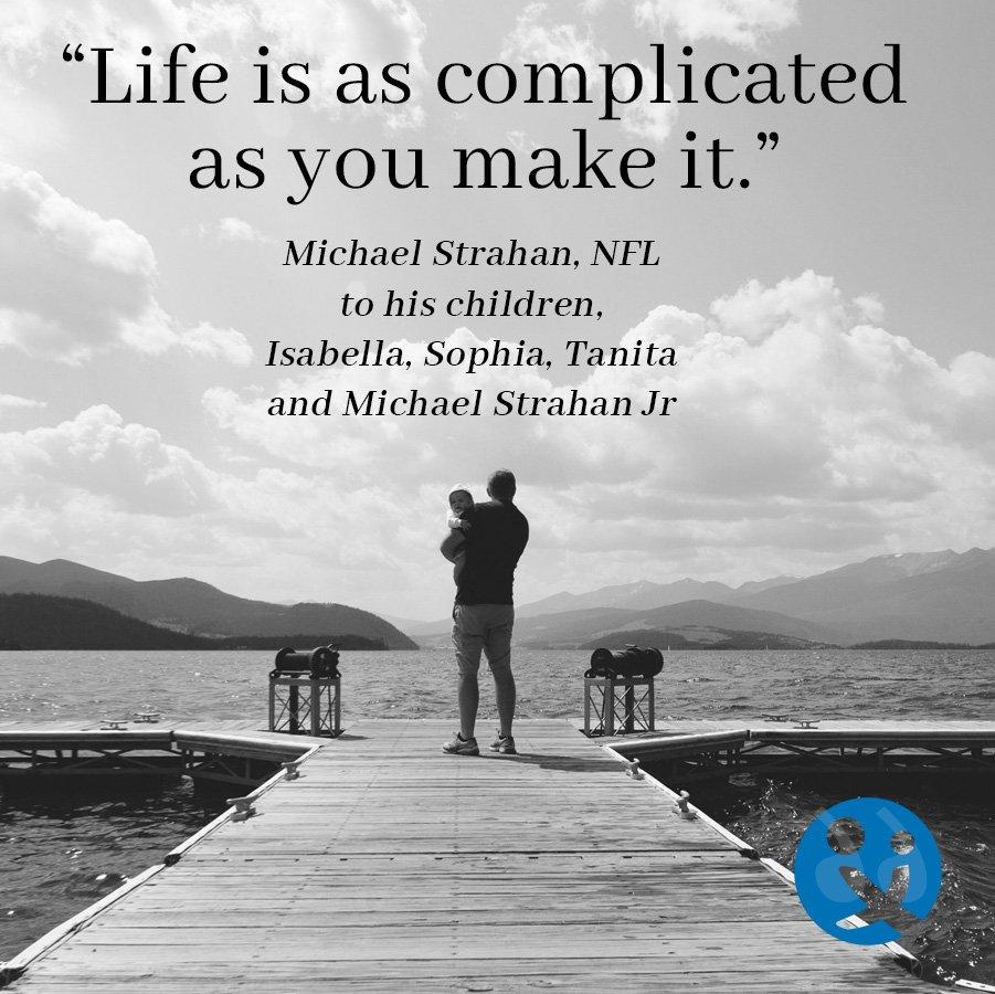 inspirational quotes, inspirational quotes from dads, inspirational quotes for dads, Michael Strachan
