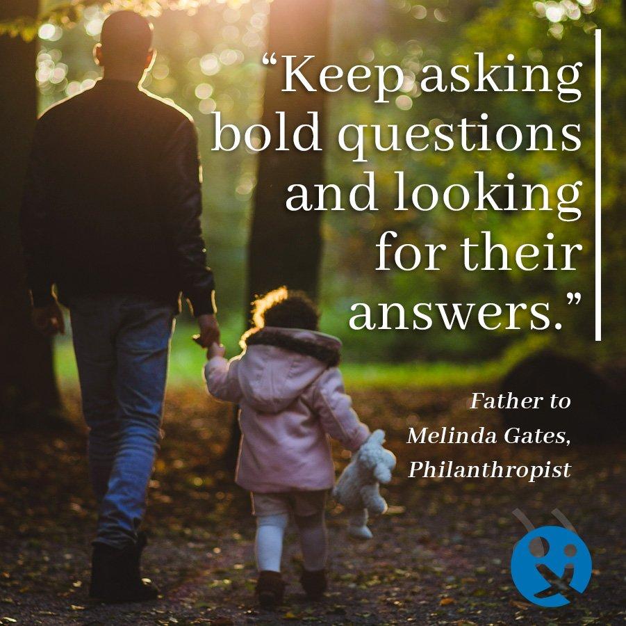 inspirational quotes, inspirational quotes from dads, inspirational quotes for dads, Melinda Gates