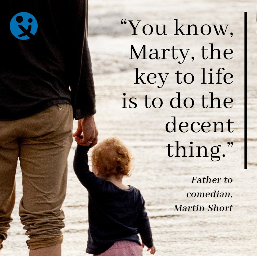 inspirational quotes for dad, inspiratonal quotes from dad, inspirational quotes, Martin Short
