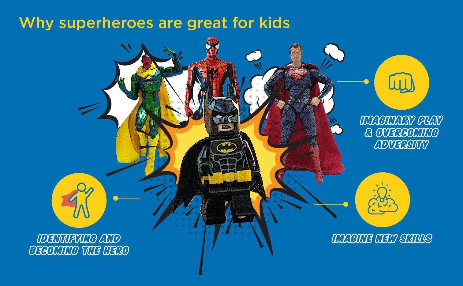 best batman toys, benefits of superheroes