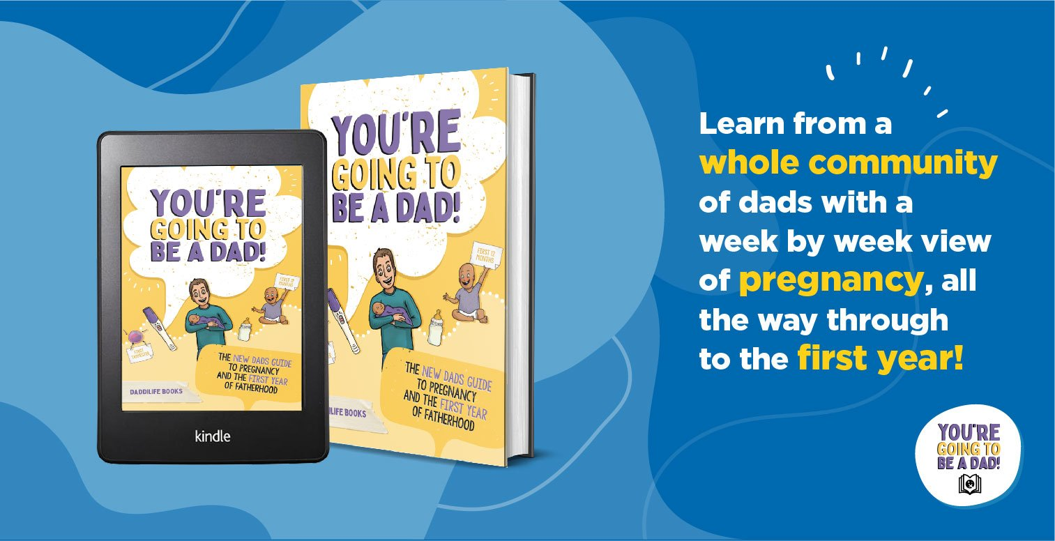 You're going to be a dad, new dad book, pregnancy book for dad,